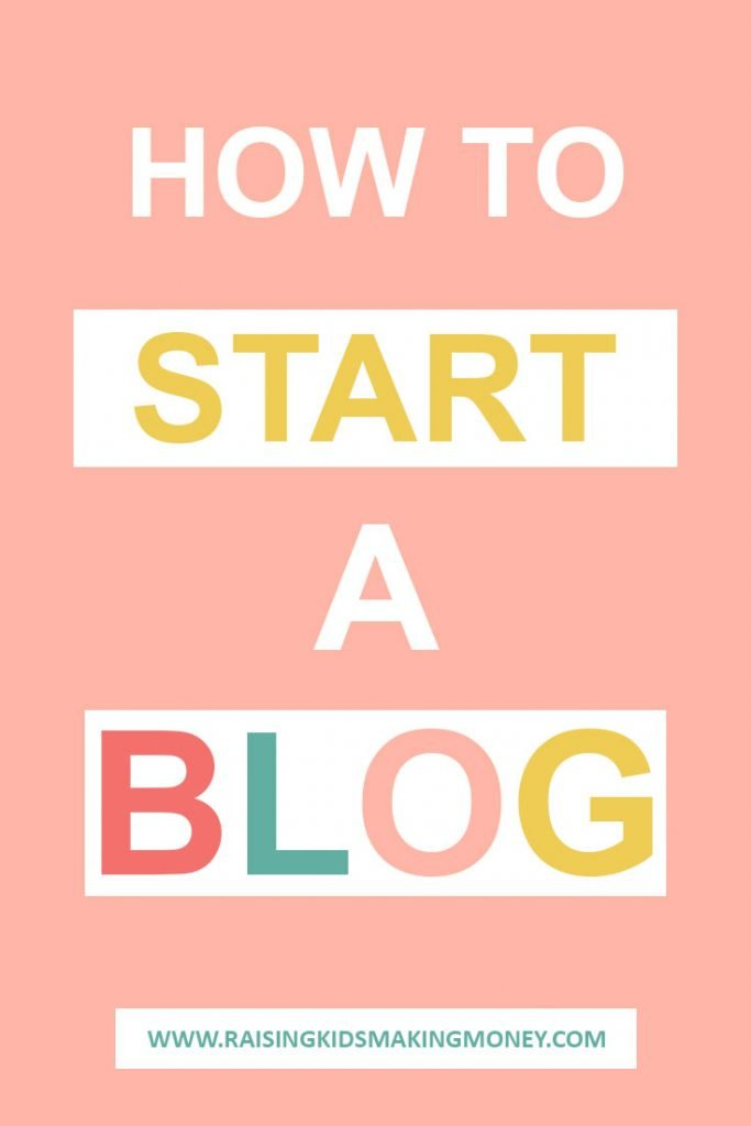 Text about how to start a blog