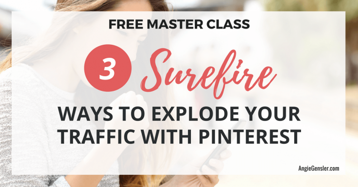 Pinterest Webinar: Grow Your Email List Fast