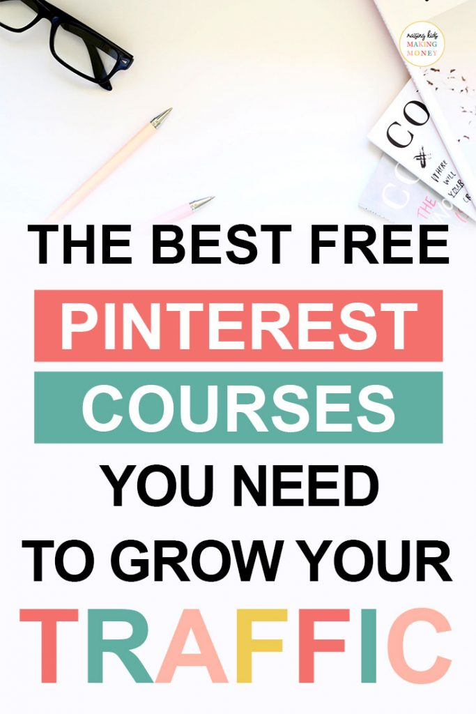 Pinterest image about the best free pinterest courses