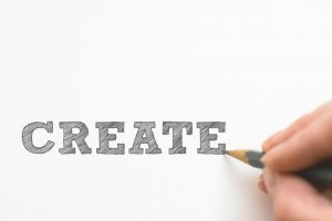 the word create