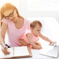 How to Work from Home with a Baby