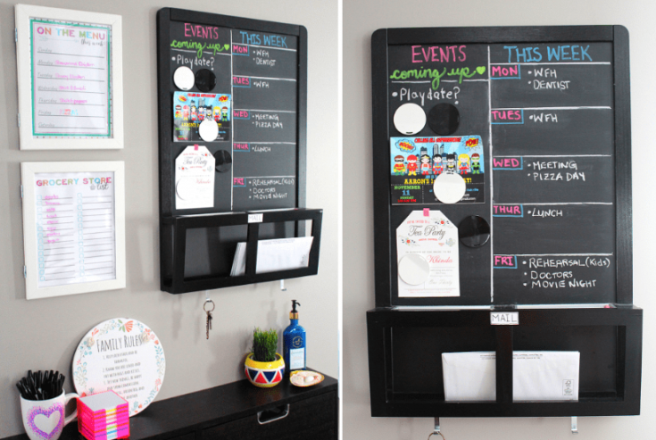 How to Organize the Family Command Center with IKEA Items You'll Love