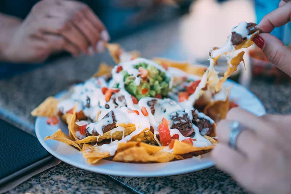 easy nacho dinner
